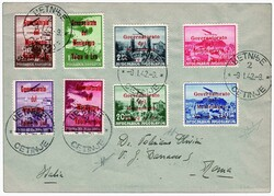 3490: Italian Occupation Montenegro - Airmail stamps