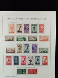 3575: Italian Eastern Africa - Collections