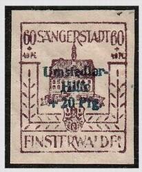 885: German Local Issue Finsterwalde