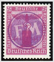 910: German Local Issue Fredersdorf - Official stamps