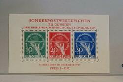1360: Berlin - Souvenir / miniature sheetlets