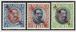 3345: Iceland - Airmail stamps