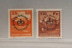 4175: Liechtenstein - Official stamps
