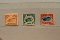 6605: United States - Airmail stamps