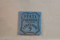 3385: Early States Parma Newspaper Stamps