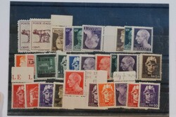 3415135: Italian Reign Revenue stamps used for postage