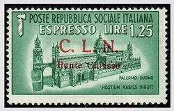 3512055: Italian Local Issues C.L.N. Ponte Chiasso - Express delivery stamps