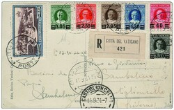 6630: Vaticane - Express delivery stamps