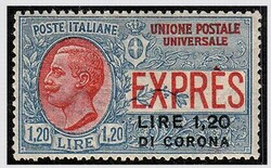 3465: Italian Occuaption of Dalmatia - Express delivery stamps