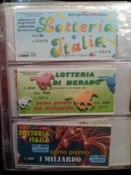 880.20: Paper, Ephemera - Lottery Tickets