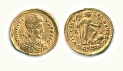10.50.10: Ancient Coins - Western Roman Empire - Honorius, 393 - 423