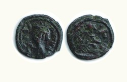 10.60.110: Ancient Coins - Byzantine Empire - Constans II, 641 - 668