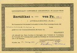 150.430: Wertpapiere - Schweiz