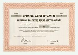 150.250: Wertpapiere - Liechtenstein