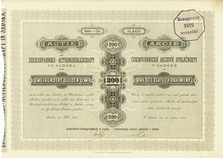 150.500: Stocks and Bonds - Czechoslovakia