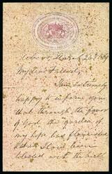 3065: États de l'Inde d'Alwar - Postal stationery