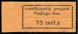5600: ザンジバル - Postage due stamps