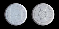 125.90: Auxiliary coins and tokens - porcelaine coins and token