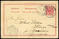 7415: Sammlungen und Posten China - Stempel