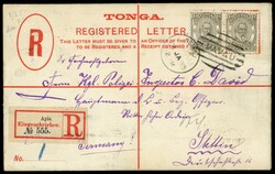 6255: Tonga - Ganzsachen