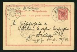 2790: Gibraltar - Ganzsachen