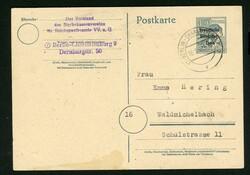 1370: Sowjetische Zone - Ganzsachen