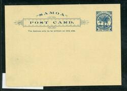 5580: Samoa - Ganzsachen