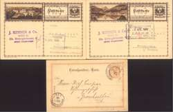7720: Collections and Lots Geographic - Postal stationery