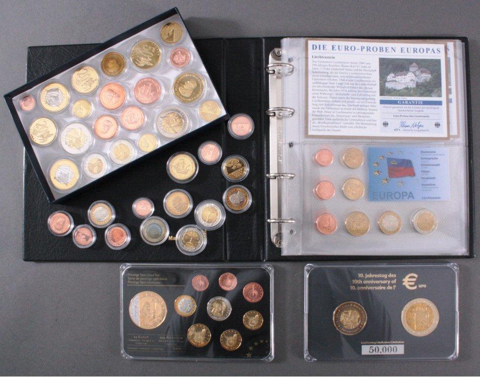 Sondersatz Sammlermünzen Convenience Goods Euro Sondermünzen Sonderedition Europa