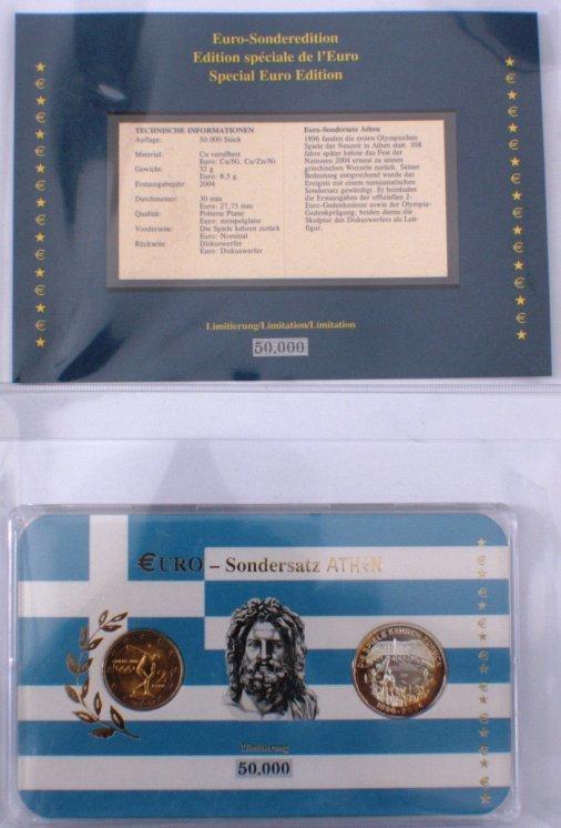 Euro Sondermünzen Sammlermünzen Convenience Goods Sondersatz Sonderedition Europa